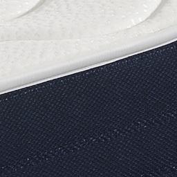 Colchón Outlet Básic Confort, detalle y costura. Outlet del Colchón, tu tienda online de colchones.