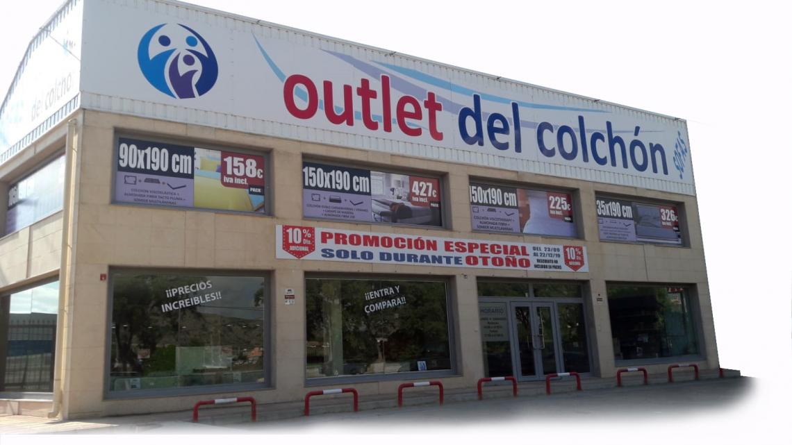 tiendas de colchones en Murcia, Outlet del Colchón