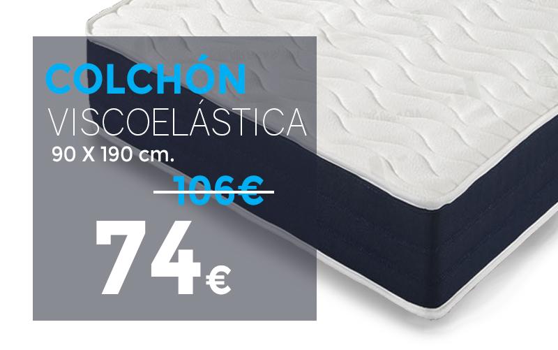 ofertas en colchones viscoelásticos en tiendas outlet del colchón Murcia