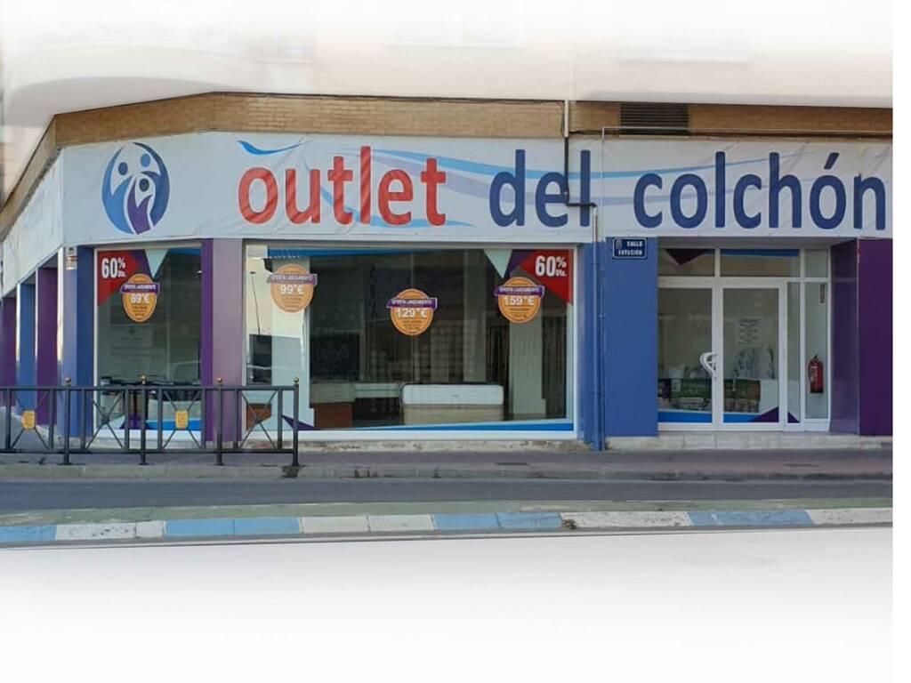 tienda de colchones viscoelástico baratos outlet en Molina de Segura - Murcia, Outlet del Colchón medidas 90x190, 105x190, 135x190, 150x190 outletdelcolchon.es