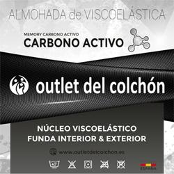 Almohada Viscoelástico Anti Estres outlet medidas 70cm, 90cm, 105cm, 135cm, 150cm outletdelcolchon.es