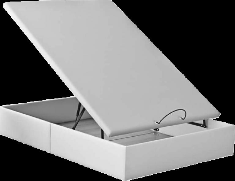 canapé de polipiel outlet blanco, weige, cerezo, 90x190, 105x190, 135x190, 150x190 outletdelcolchon.es