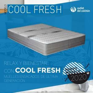 colchón muelles ensacados Cool Fresh Outlet del colchón