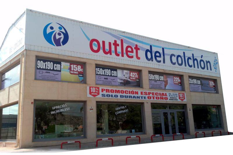 Tienda de colchones viscoelástico muelles ensacados outlet del colchón Cobatillas Murcia